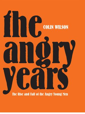 cover image of The Angry Years