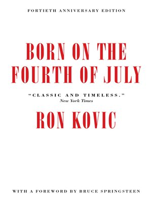 cover image of Born on the Fourth of July