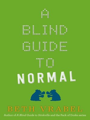 cover image of A Blind Guide to Normal