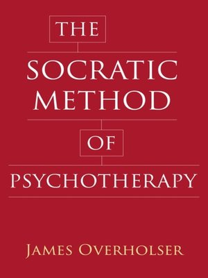 cover image of The Socratic Method of Psychotherapy