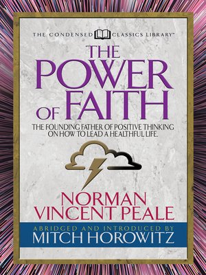 cover image of The Power of Faith (Condensed Classics)