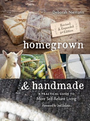 cover image of Homegrown & Handmade