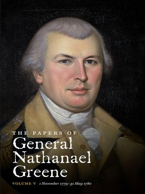 cover image of The Papers of General Nathanael Greene