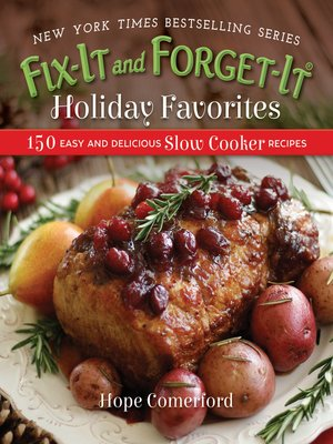 cover image of Fix-It and Forget-It Holiday Favorites