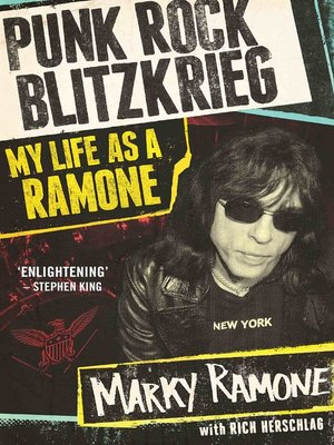 cover image of Punk Rock Blitzkrieg--My Life As a Ramone