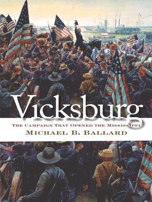 cover image of Vicksburg