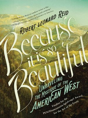 cover image of Because It Is So Beautiful