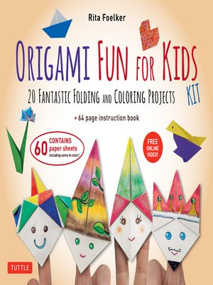 cover image of Origami Fun for Kids Ebook