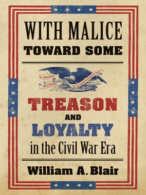 cover image of With Malice toward Some