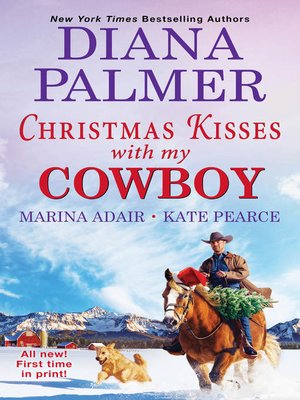 cover image of Christmas Kisses with My Cowboy