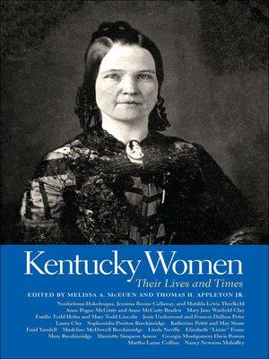 cover image of Kentucky Women