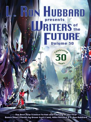 cover image of Writers of the Future Volume 30