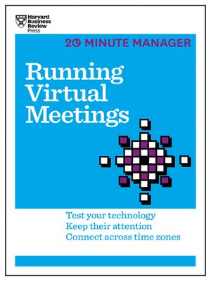 cover image of Running Virtual Meetings