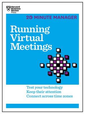 cover image of Running Virtual Meetings