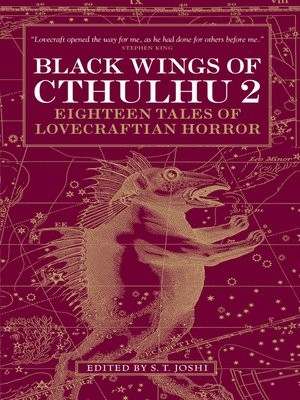 cover image of Black Wings of Cthulhu (Volume Two)