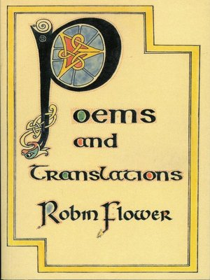 cover image of Poems and Translations