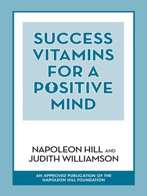 cover image of Success Vitamins for a Positive Mind