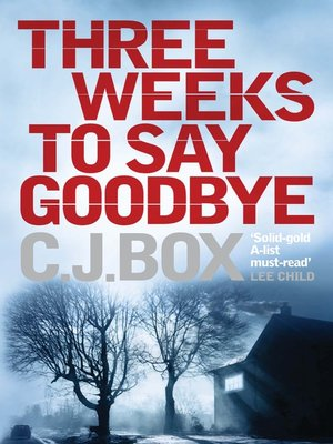cover image of Three Weeks to Say Goodbye