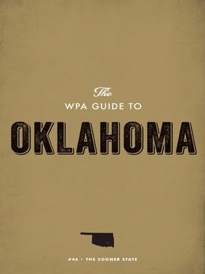 cover image of The WPA Guide to Oklahoma