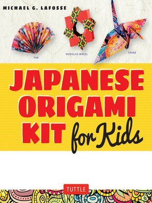 cover image of Japanese Origami Kit for Kids Ebook