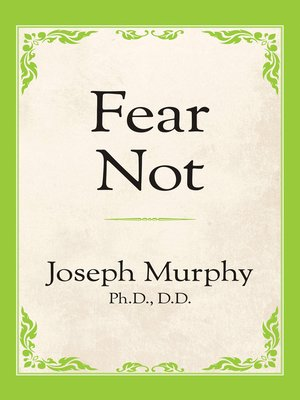 cover image of Fear Not