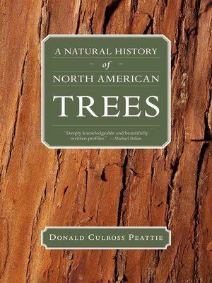 cover image of A Natural History of North American Trees