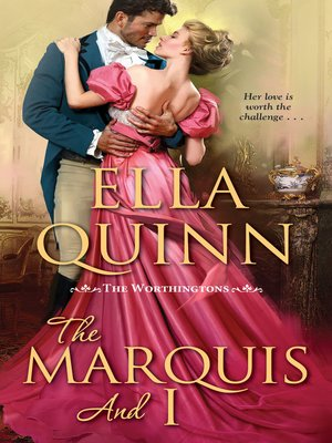cover image of The Marquis and I