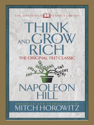 cover image of Think and Grow Rich (Condensed Classics)
