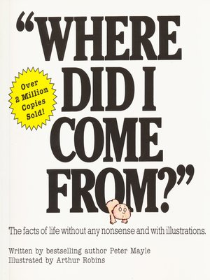 """cover image of """"Where Did I Come From?"""""""