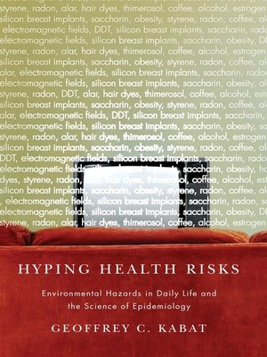 cover image of Hyping Health Risks