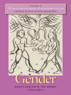 cover image of Volume 13: Gender