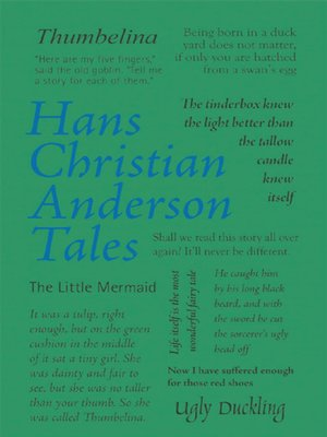 cover image of Hans Christian Andersen Tales