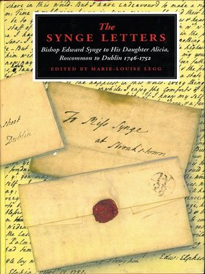 cover image of The Synge Letters