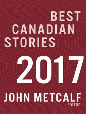 cover image of Best Canadian Stories