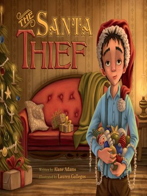 cover image of The Santa Thief