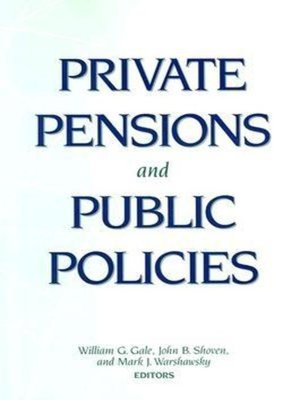 cover image of Private Pensions and Public Policies