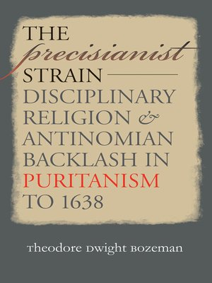cover image of The Precisianist Strain