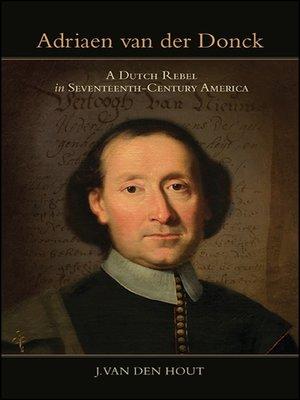 cover image of Adriaen van der Donck