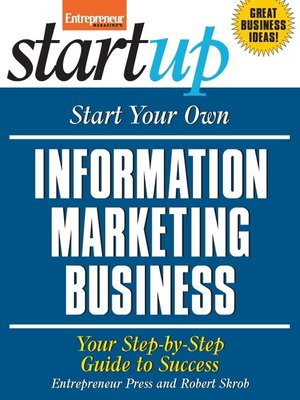 cover image of Start Your Own Information Marketing Business
