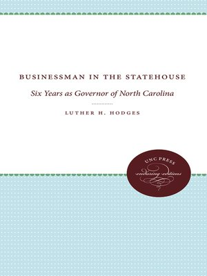 cover image of Businessman in the Statehouse
