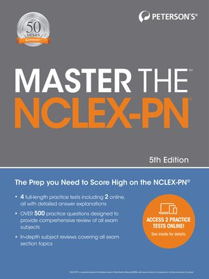 cover image of Master the NCLEX-PN