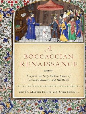 cover image of A Boccaccian Renaissance