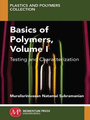 cover image of Basics of Polymers, Volume I