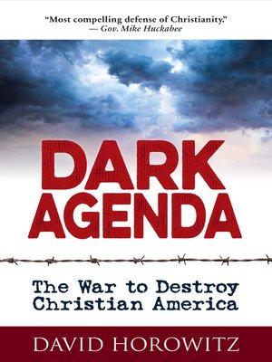 cover image of DARK AGENDA