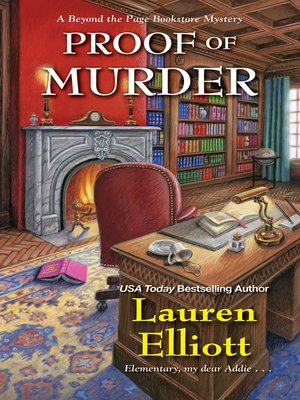 cover image of Proof of Murder