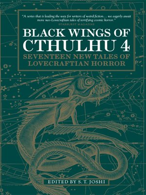 cover image of Black Wings of Cthulhu, Volume 4