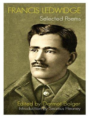 cover image of Francis Ledwidge