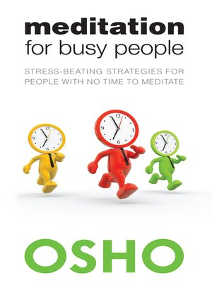 cover image of Meditation for Busy People