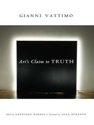 cover image of Art's Claim to Truth