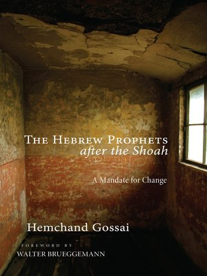 cover image of The Hebrew Prophets after the Shoah